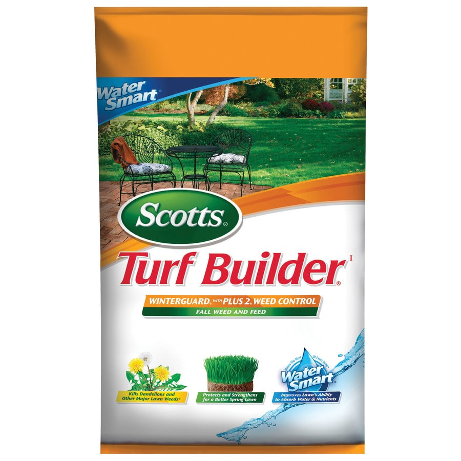 Scotts 15M Liquid Turf Builder with Plus 2 Weed Control Water Smart Fall/Winter Lawn Fertilizer (26-0-10)