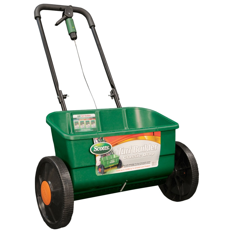 Scotts Turf Builder Classic 32-lb Drop Spreader