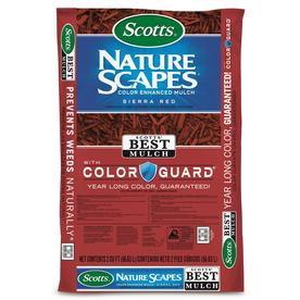 Scotts Nature Scapes Color Enhanced 2 Cu Ft Red Hardwood Mulch