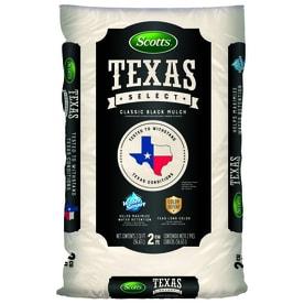 Scotts Texas Select Classic Black 2 Cu Ft Hardwood Mulch
