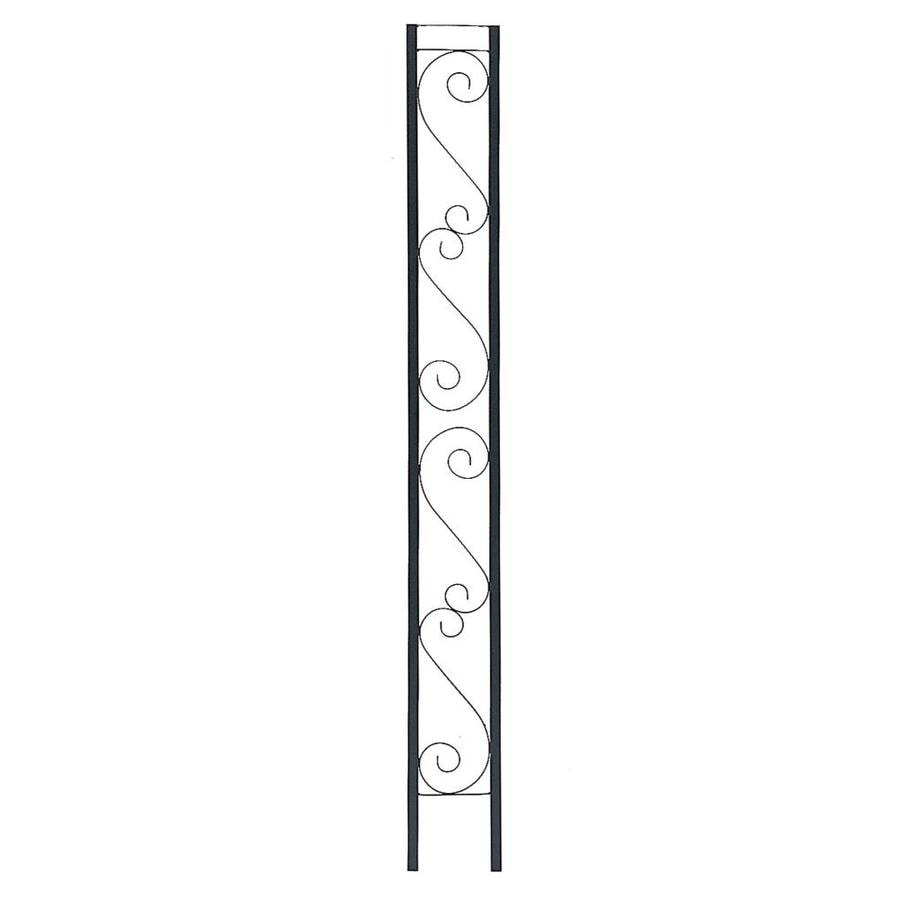 Shop gilpin windsor x 8 ft painted steel flat for Decorative support columns