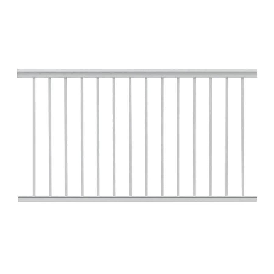Gilpin Summit 60-in x 33-in White Aluminum Porch Railing