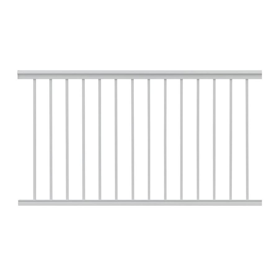 Gilpin Summit 60-in x 39-in White Aluminum Porch Railing