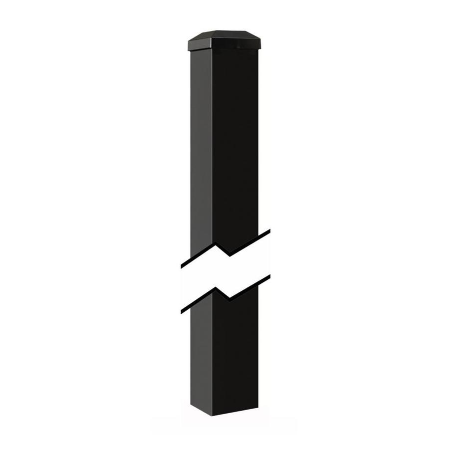 Gilpin Summit Black Aluminum Deck Post