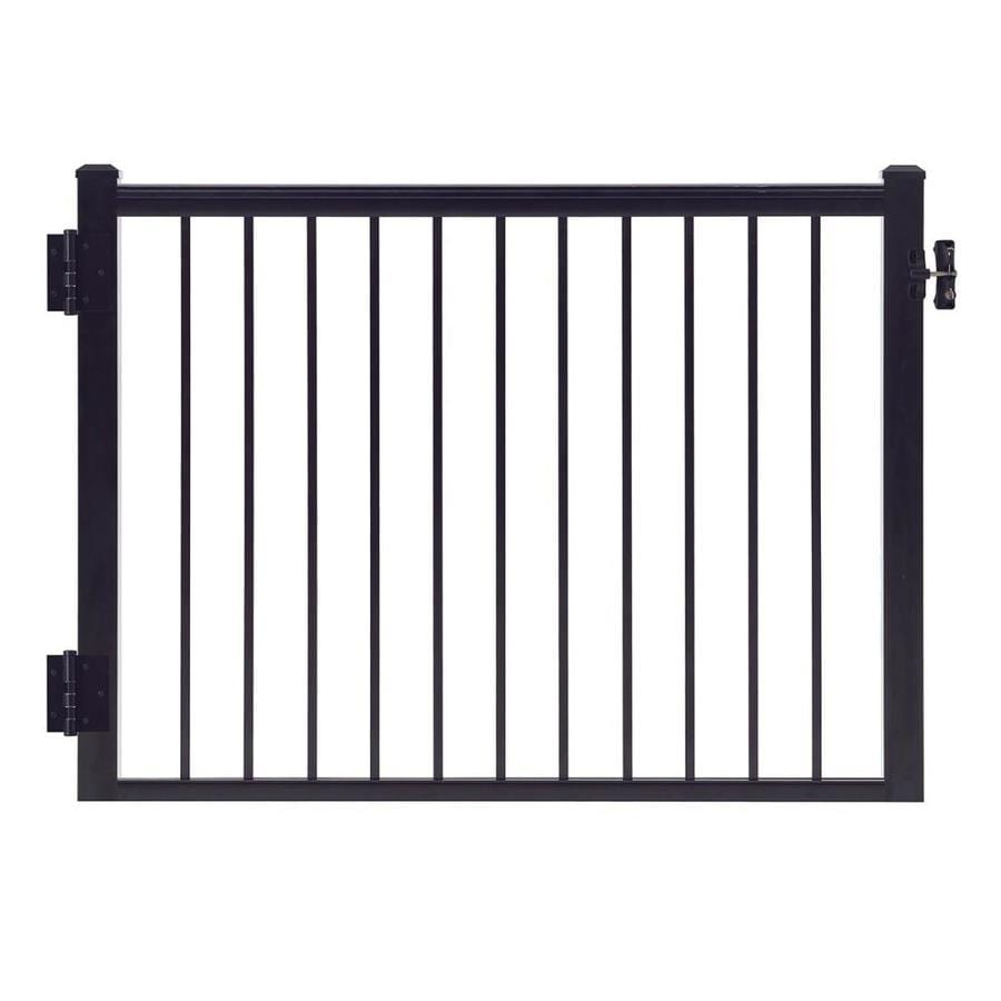 Gilpin Summit 47-in W x 45-in H Aluminum Deck Railing Gate