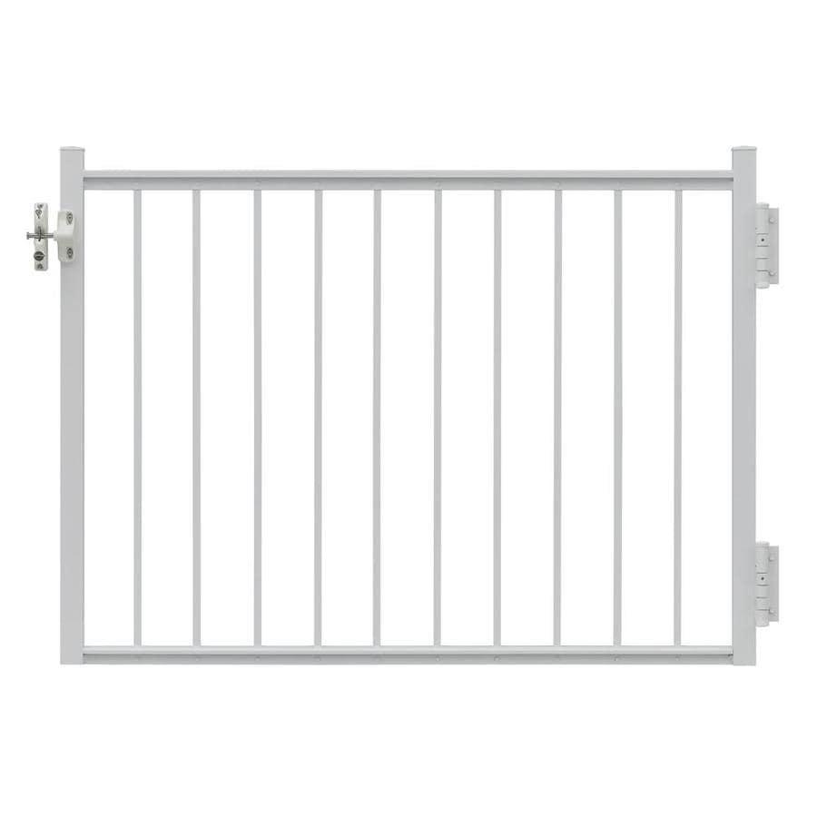 Gilpin Midway 47-in W x 45-in H Aluminum Deck Railing Gate