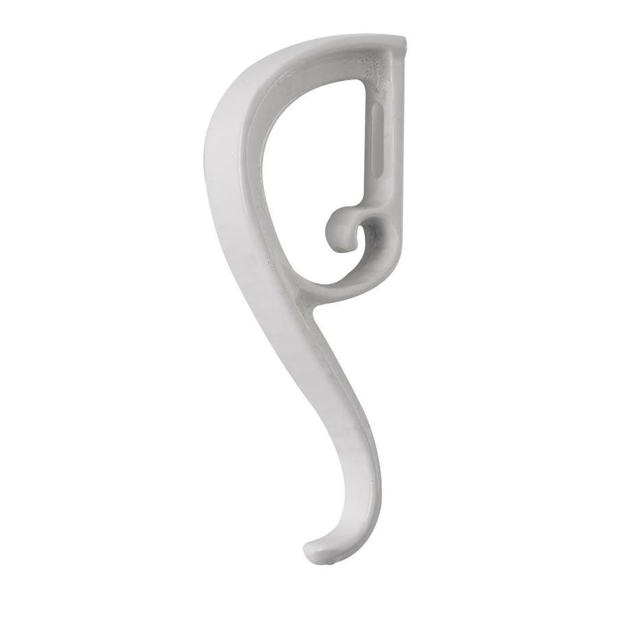 Gilpin Midway White Aluminum Lamb's Tongue Porch Railing Accents