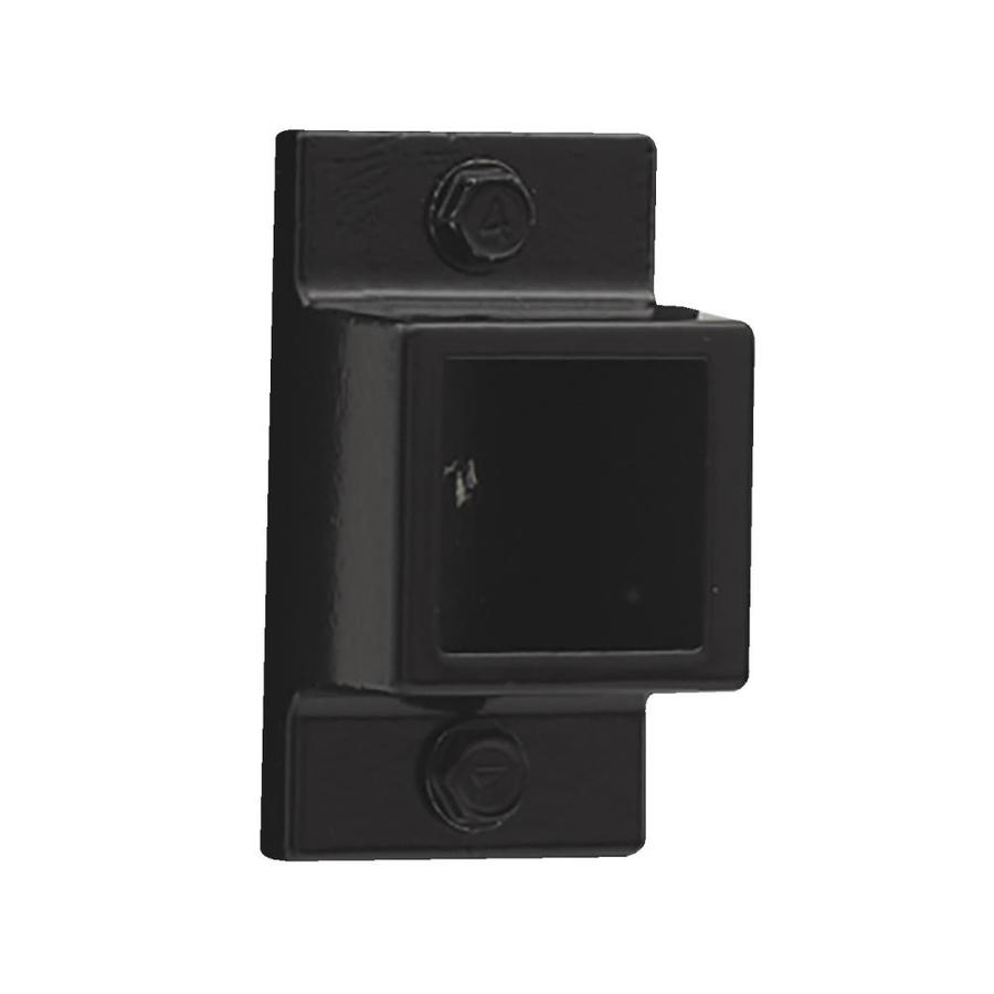 Gilpin Standard Black Aluminum Fence Mounting Bracket At
