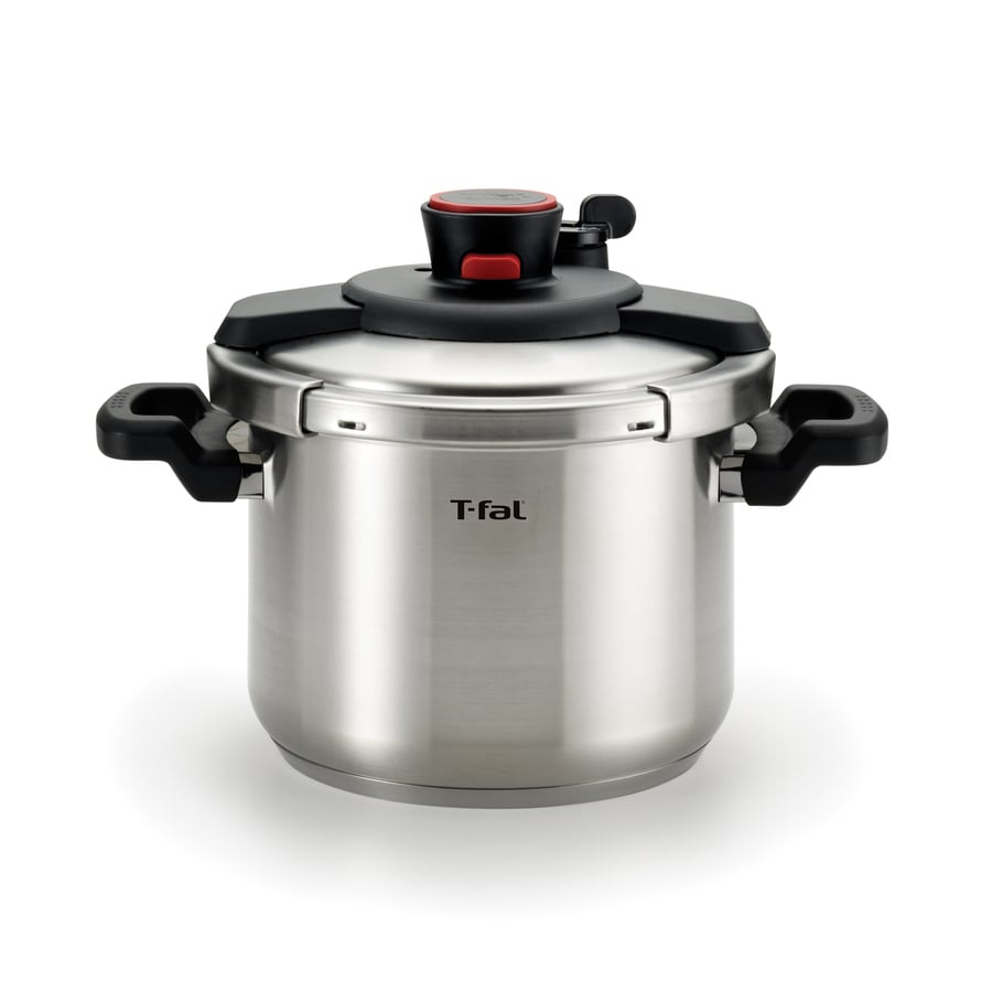 Shop T Fal 6 3 Quart Stainless Steel Stove Top Pressure