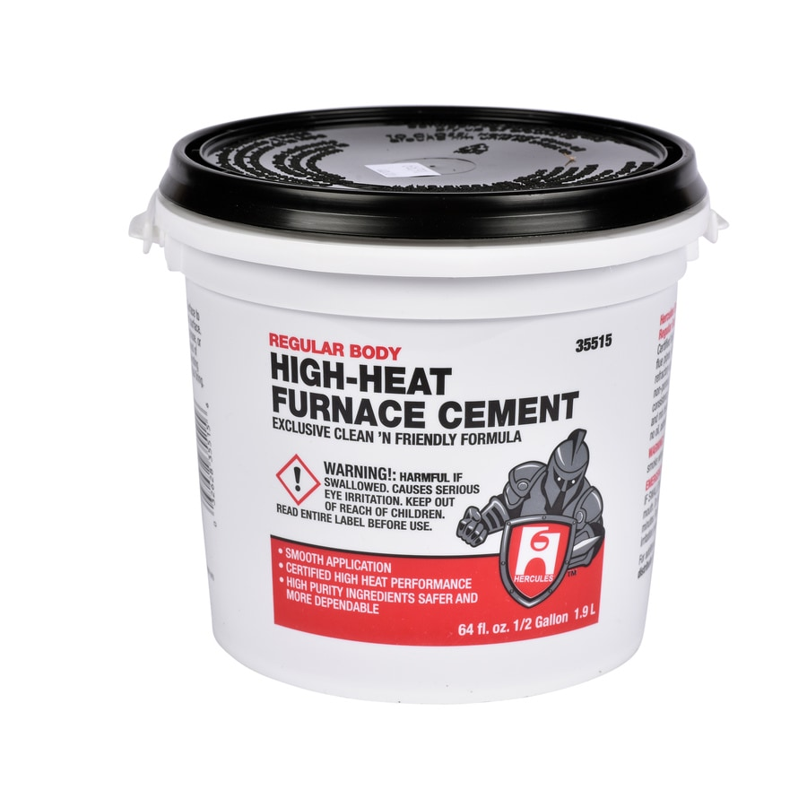 Oatey High Heat Furnace Cement - Regular Body, 1/2 gallon