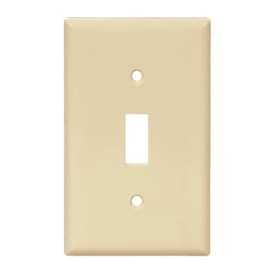 Gang Ivory Toggle Wall Plate At Lowes