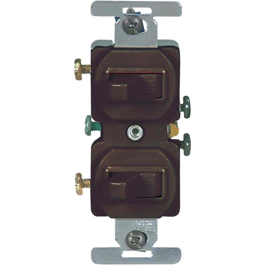 Eaton Brown Light Switch