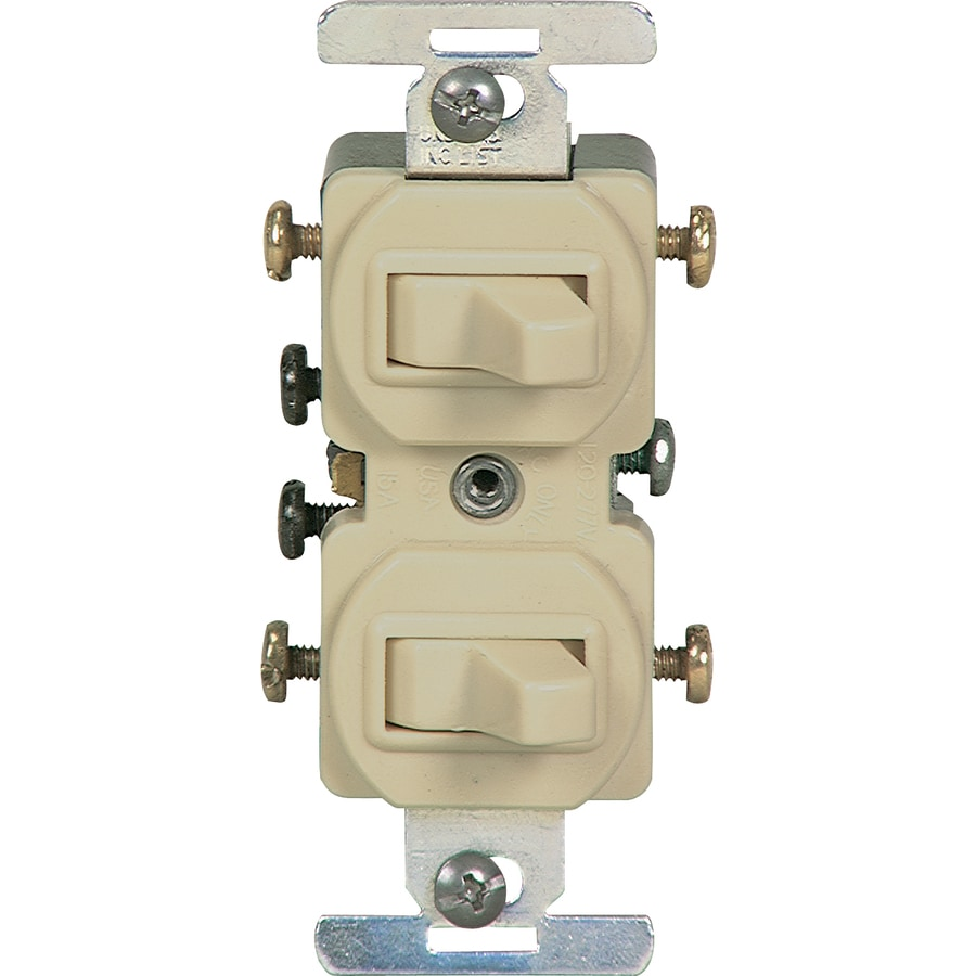 Eaton Ivory Light Switch