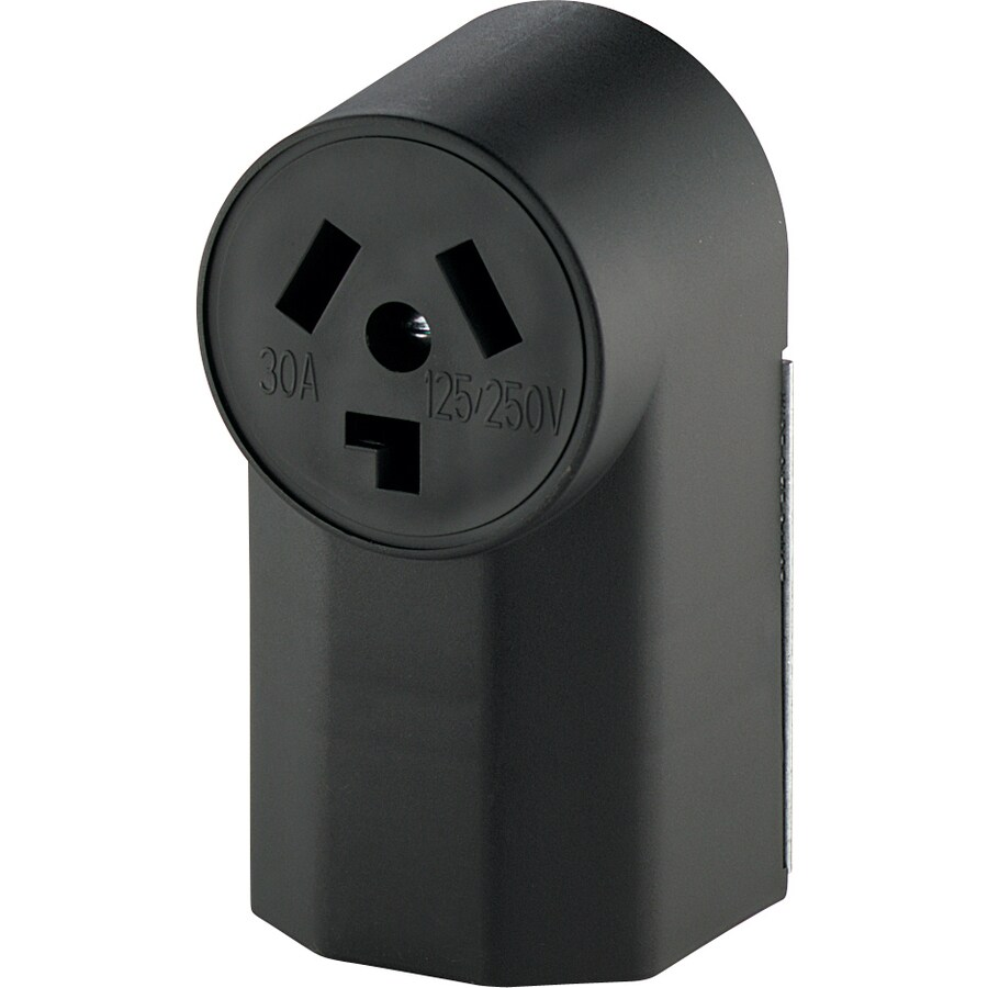 Shop Cooper Wiring Devices 30 Amp Dryer Power Outlet At A Plug
