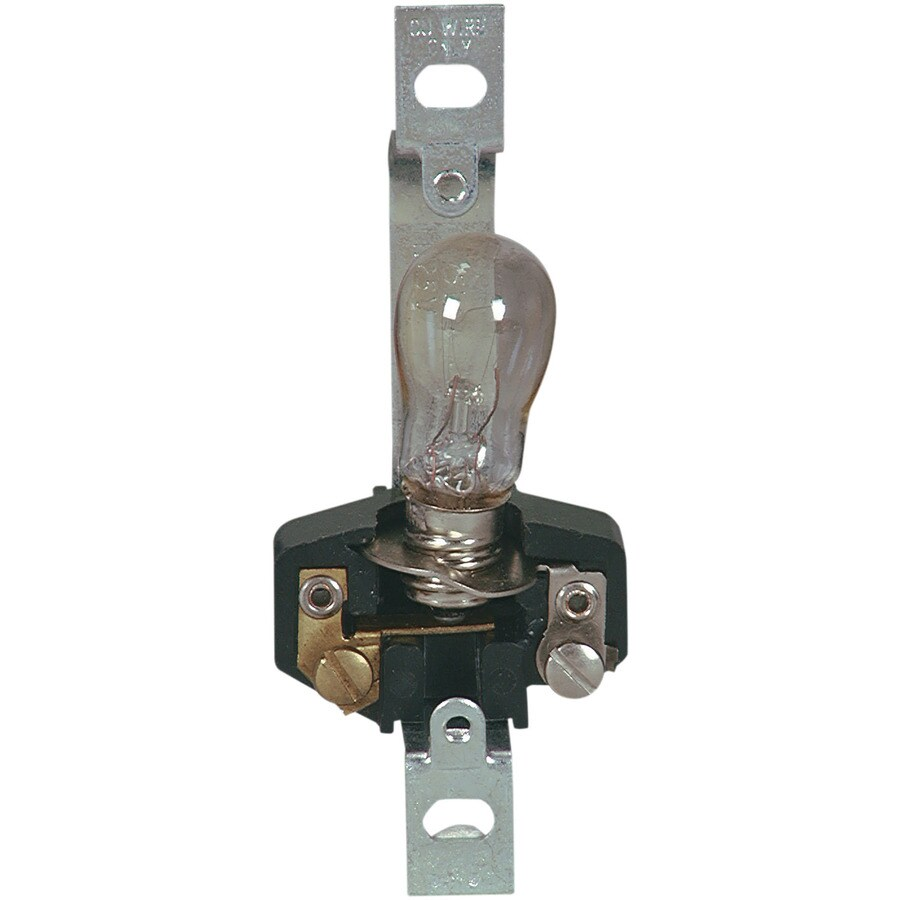 Eaton 3-Way 60-Watt Silver Lamp Socket