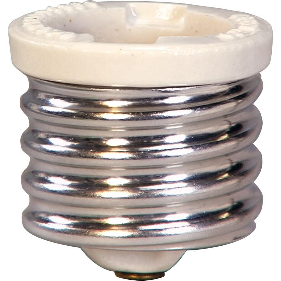 Cooper Wiring Devices 660-Watt Silver Mogul Light Socket Adapter