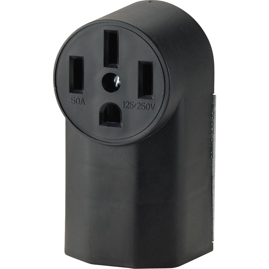Shop Cooper Wiring Devices 50 Amp Range Power Outlet At Wires When Installing Electrical Receptacles Wall Plug Outlets
