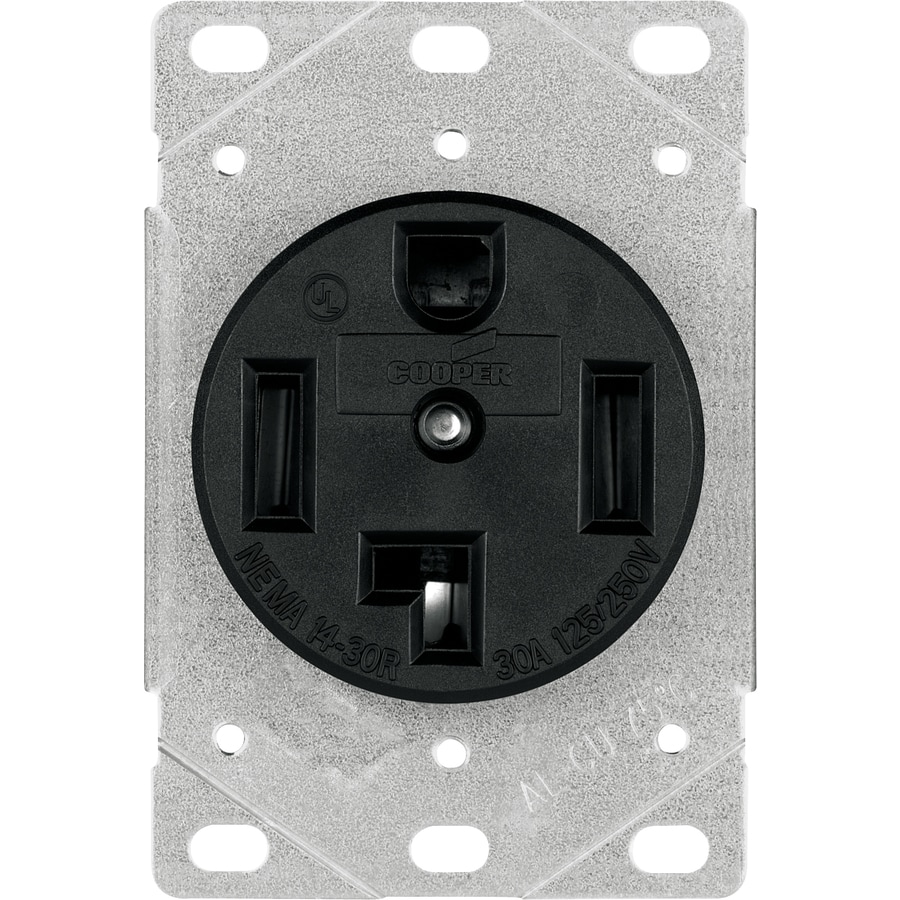 Cooper Wiring Devices 30 Amp Dryer Outlet