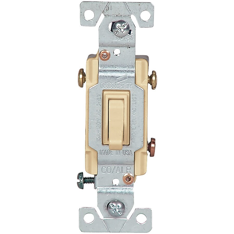 Cooper 3 Way Light Switch