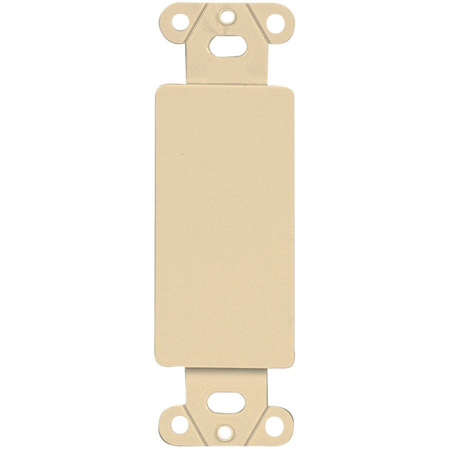 Eaton 1-Gang Ivory Decorator Wall Plate