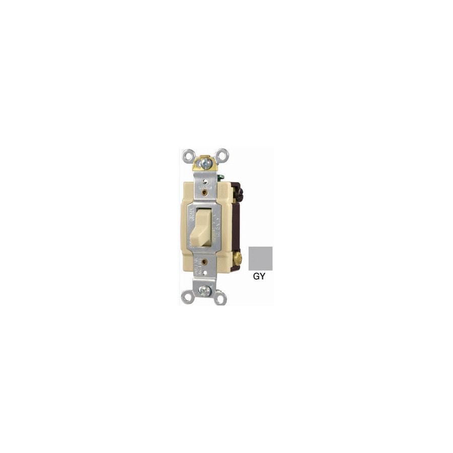 Shop Eaton Switch 4way Gray Light Switch at Lowescom