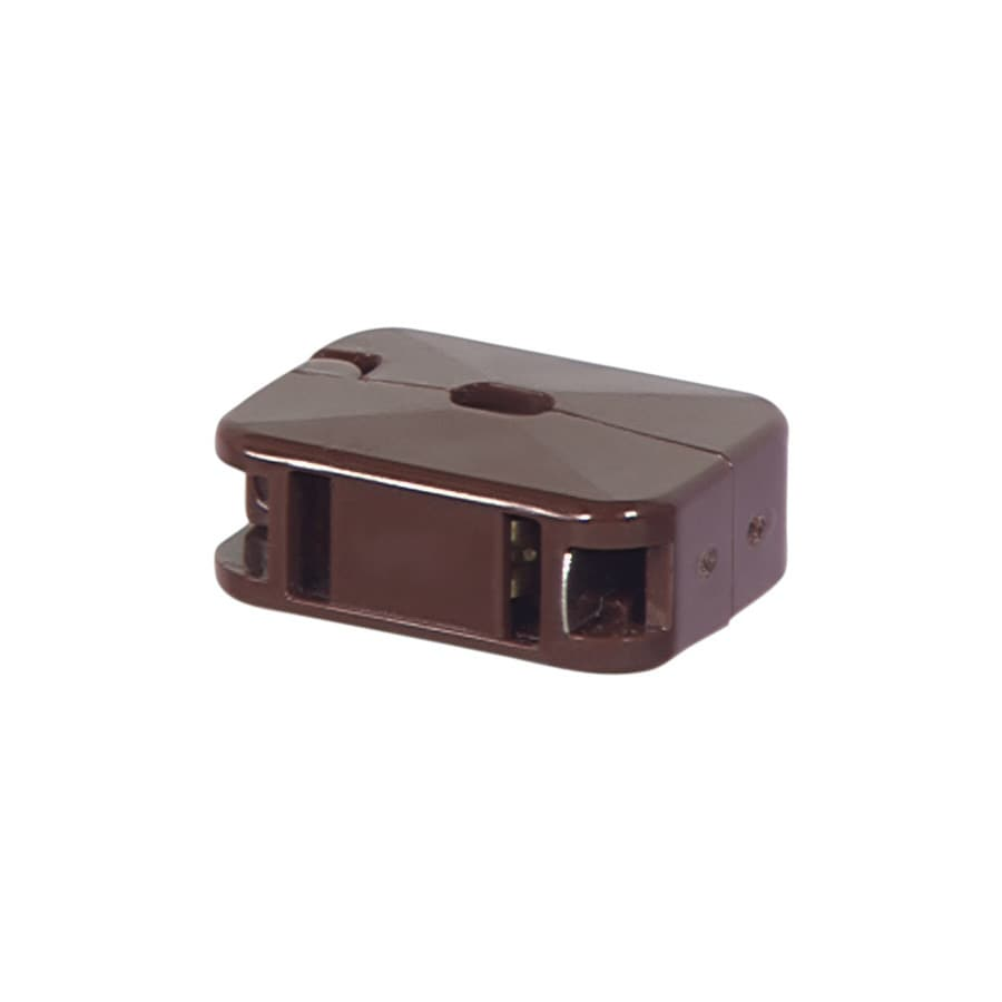 Eaton 10-Amp 125-Volt Brown 2-Wire Connector