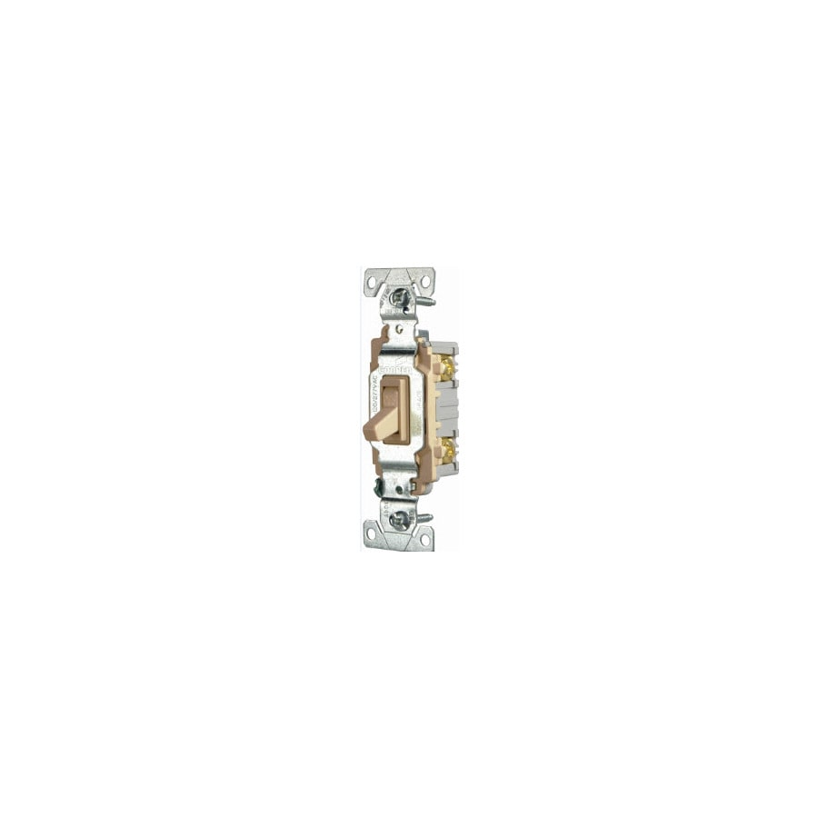 Eaton Single Pole Ivory Light Switch