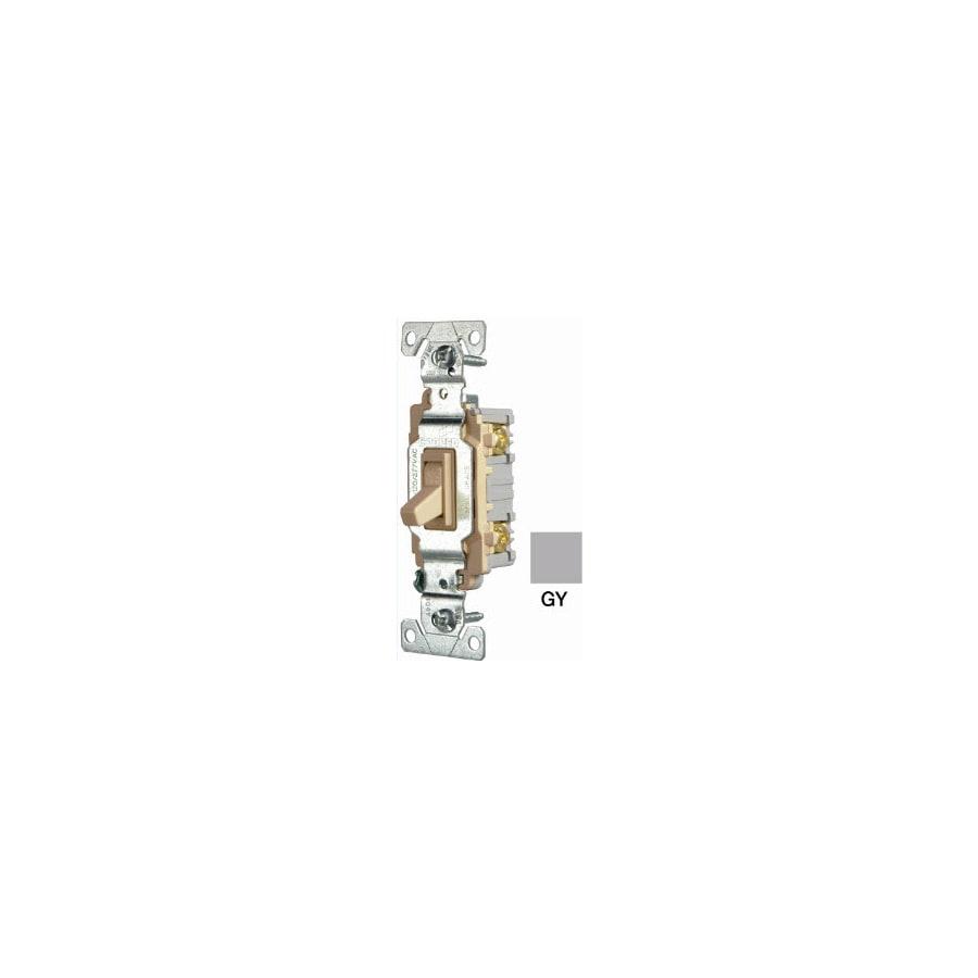Eaton Single Pole Gray Light Switch