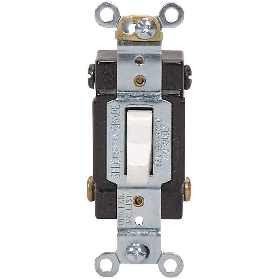 Eaton 4-Way White Light Switch