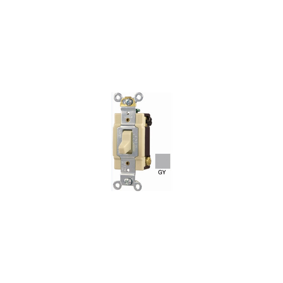 Eaton 4-WayGray Light Switch