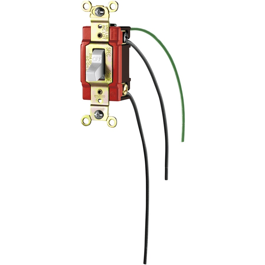 032664559068 shop eaton single pole white light switch at lowes com eaton light switch wiring diagram at virtualis.co