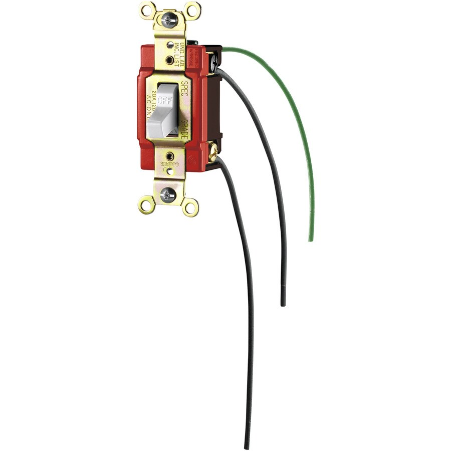 032664559068 shop eaton single pole white light switch at lowes com LED Rocker Switch Wiring Diagram at aneh.co