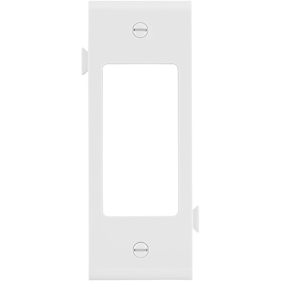 Eaton 1-Gang White Decorator Wall Plate