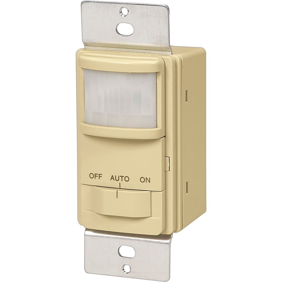 Cooper Wiring Devices Single Pole Ivory Light Switch