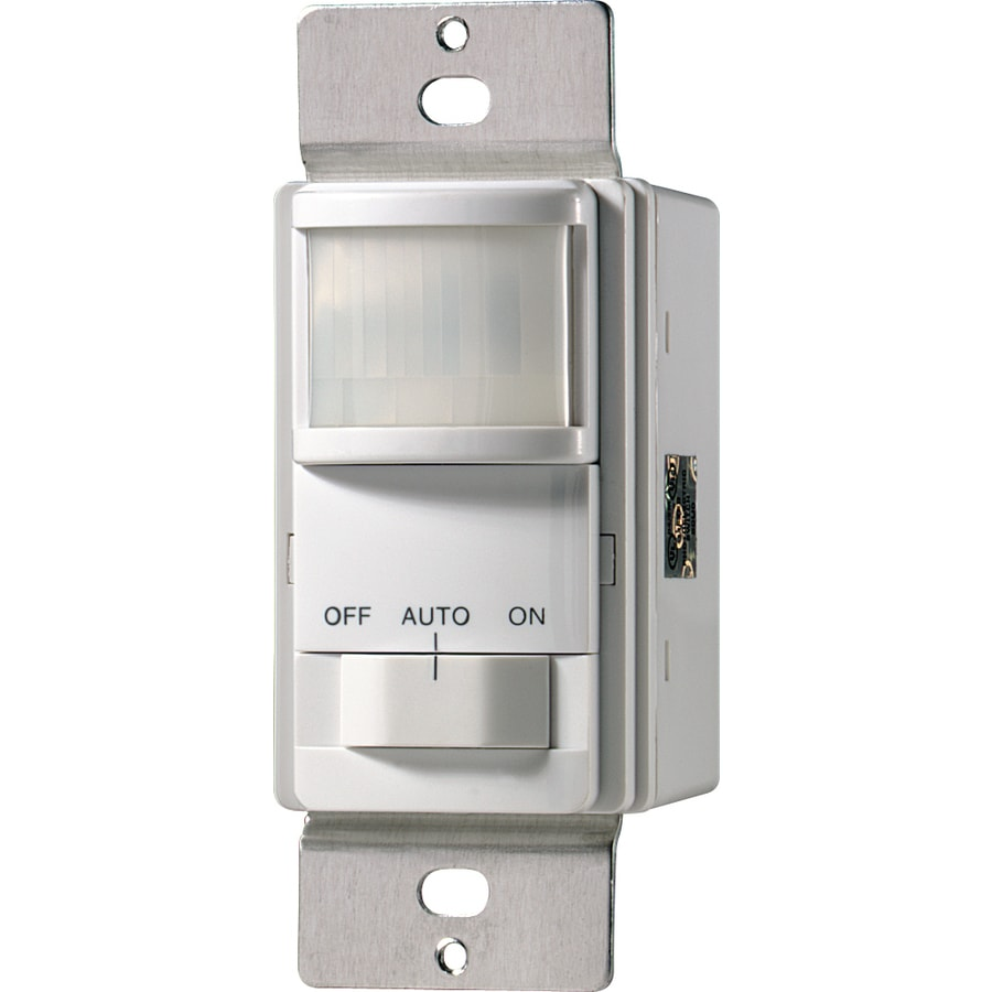 Cooper Wiring Devices Single Pole 3-Way White Light Switch