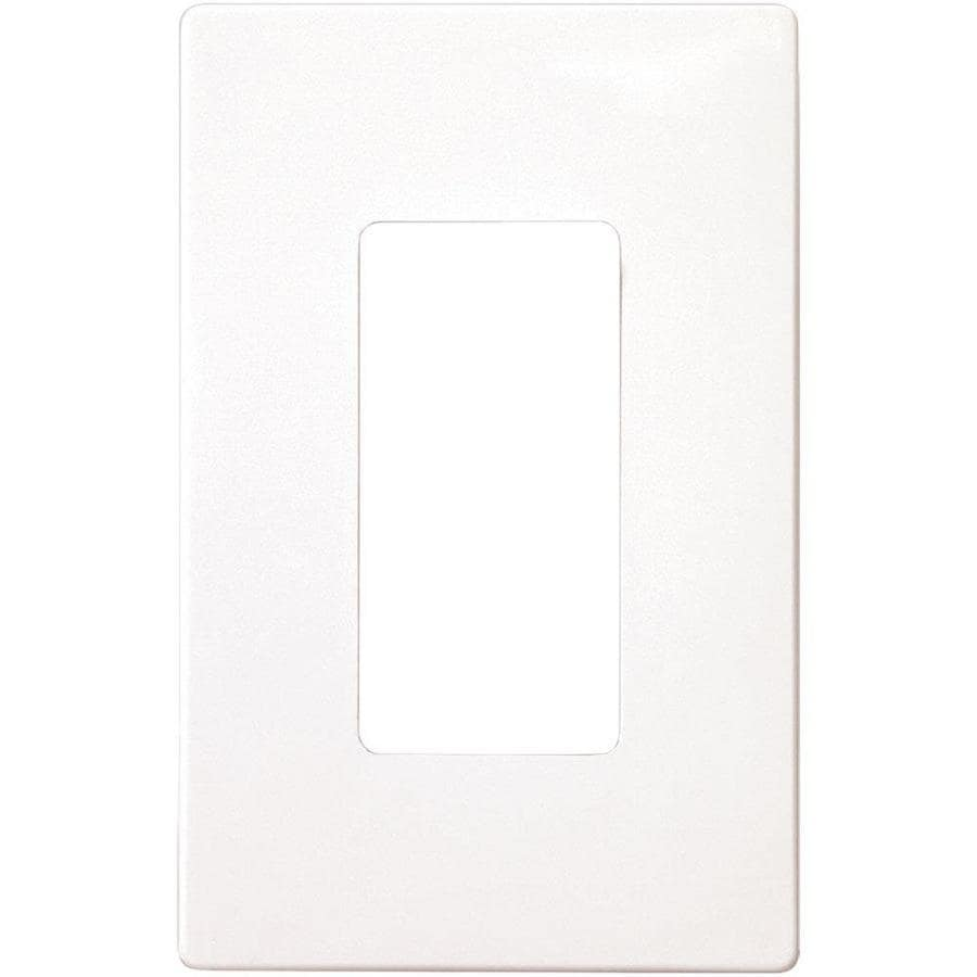eaton 1gang single decorator wall plate