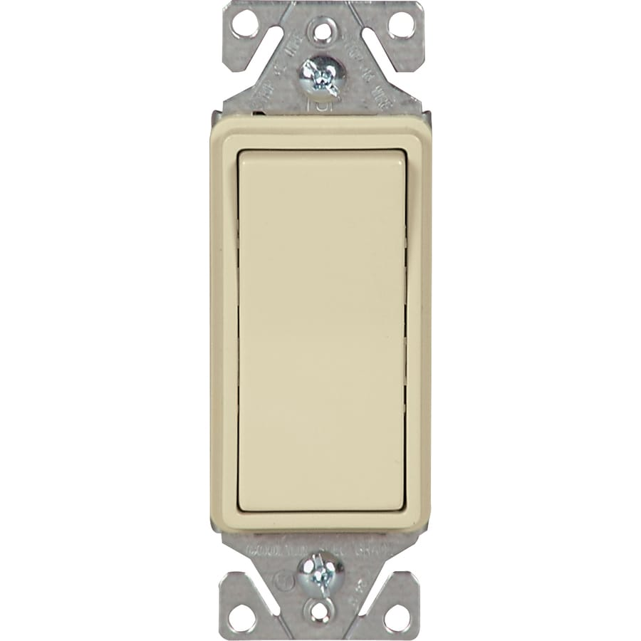Shop Cooper Wiring Devices Single Pole 3 Way Ivory Light Switch At 3way