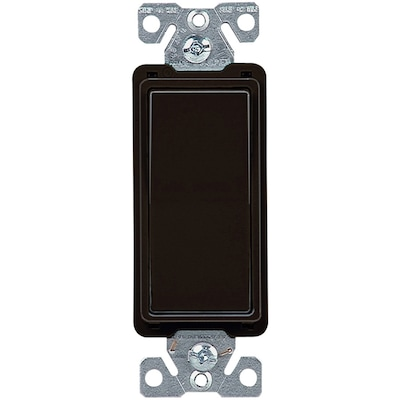 4 Way Black Residential Light Switch