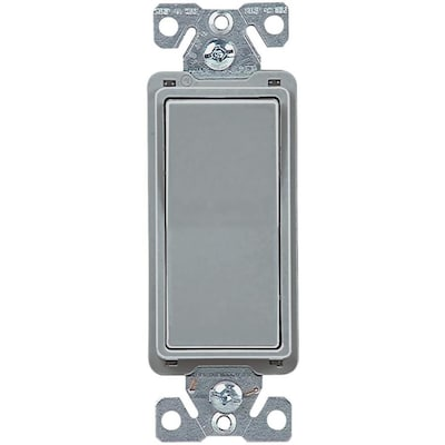 Eaton 15 Amp 4 Way Gray Rocker Residential Light Switch At