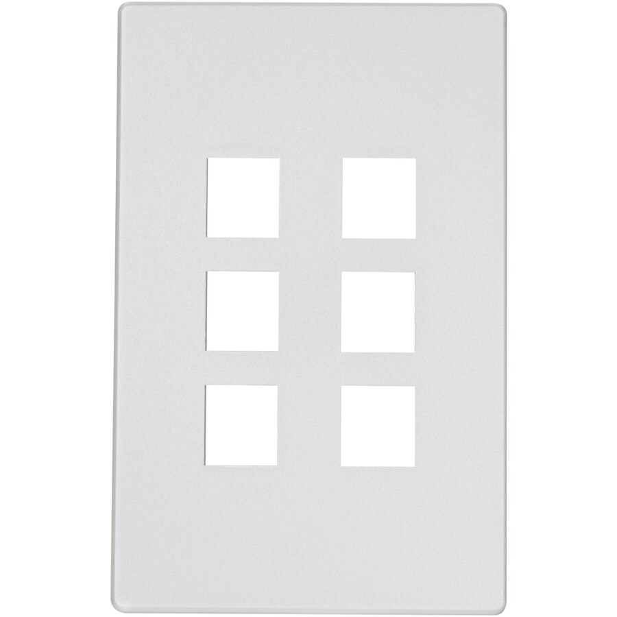 Eaton Aspire 1-Gang Silver Granite Wall Plate