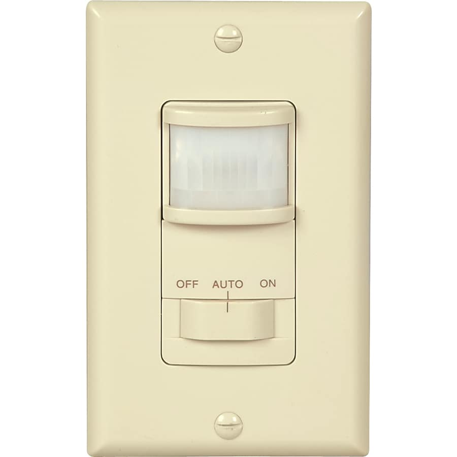 Cooper Wiring Devices Single Pole Almond Motion Light Switch