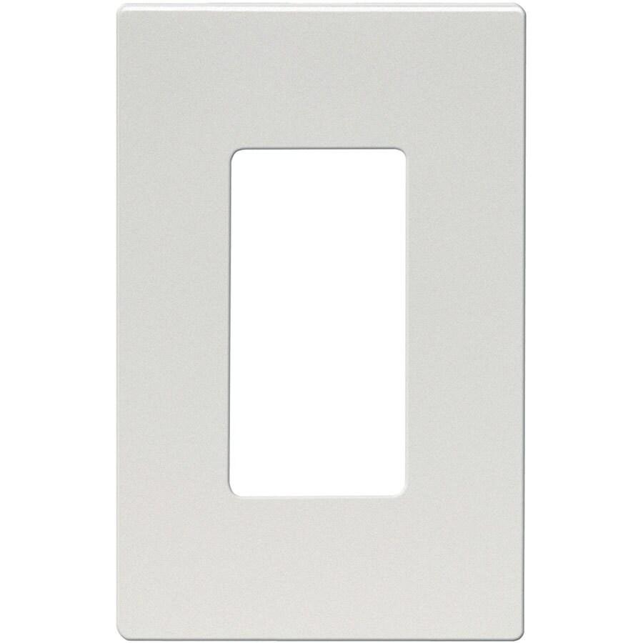 Eaton Aspire 1-Gang Silver Granite Single Decorator Wall Plate