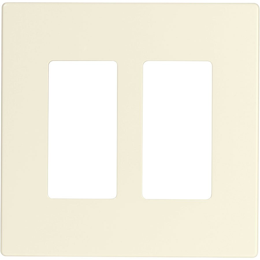 Eaton Aspire 2-Gang Desert Sand Double Decorator Wall Plate
