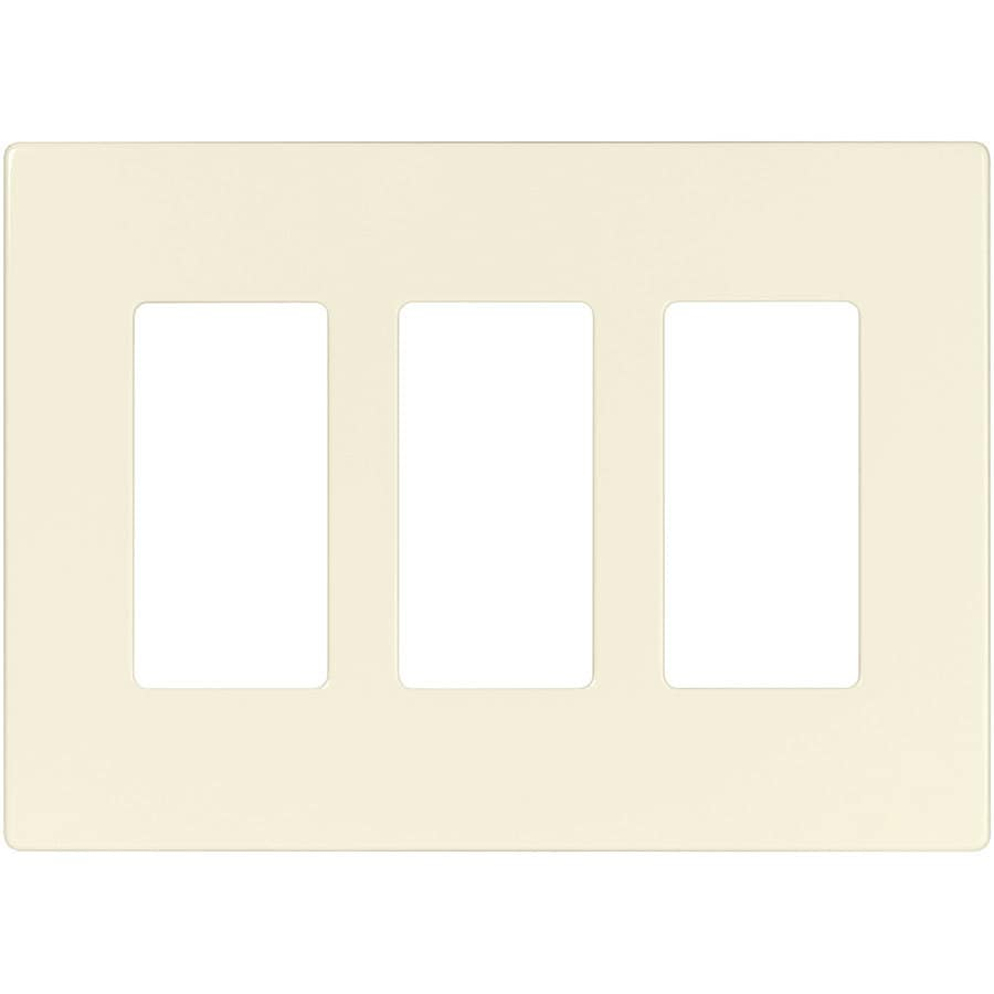 Shop Cooper Wiring Devices Aspire 3 Gang Desert Sand Decorator Duplex Receptacle Nylon Wall Plate
