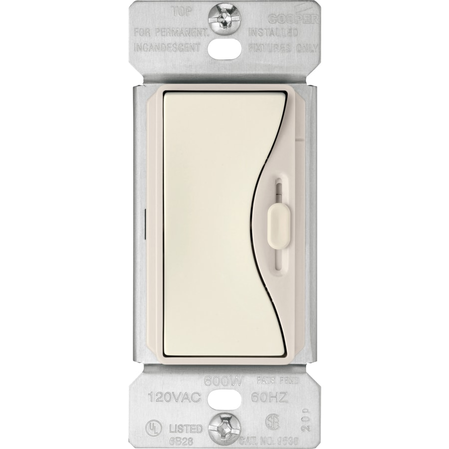 Cooper Wiring Devices Aspire 3 Way Slide Dimmer At With