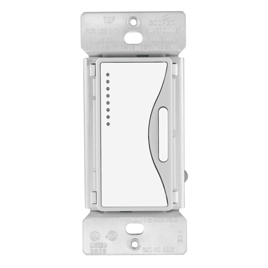 shop cooper wiring devices aspire 3 way dimmer at lowes com rh lowes com cooper wiring devices aspire with light cooper wiring devices aspire with light