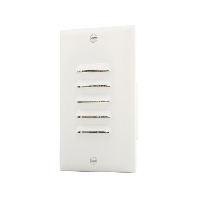 Eaton White Step Light Recessed Light Trim Fits Housing Diameter 2 In In The Recessed Light