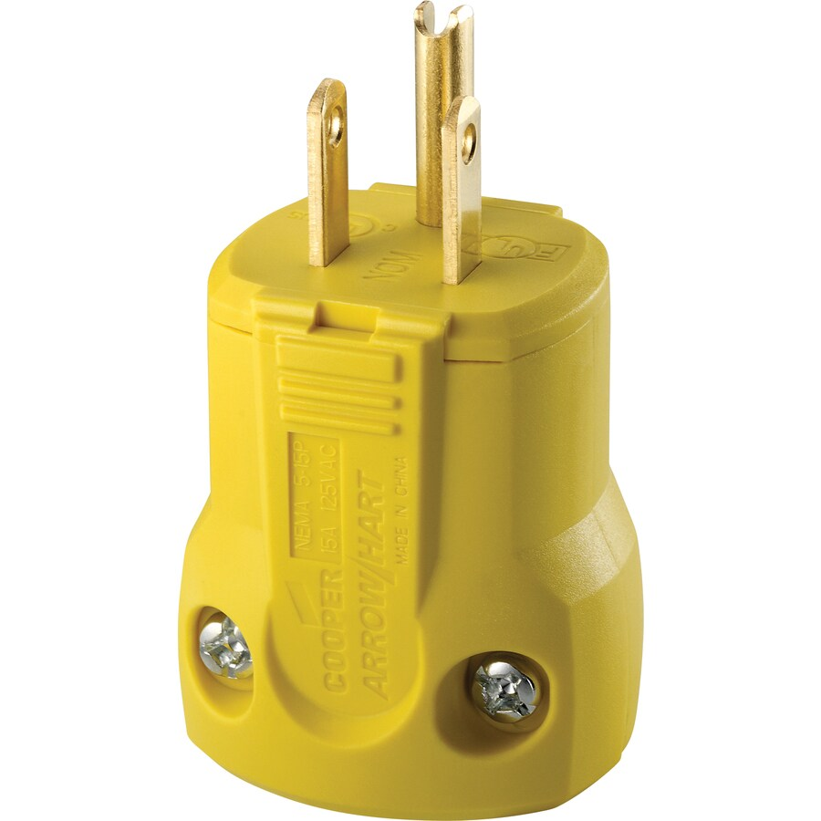 Terrific Cooper Wiring Devices 15 Amp Volt Yellow 3 Wire Grounding At Lowes Com Wiring 101 Hemtstreekradiomeanderfmnl