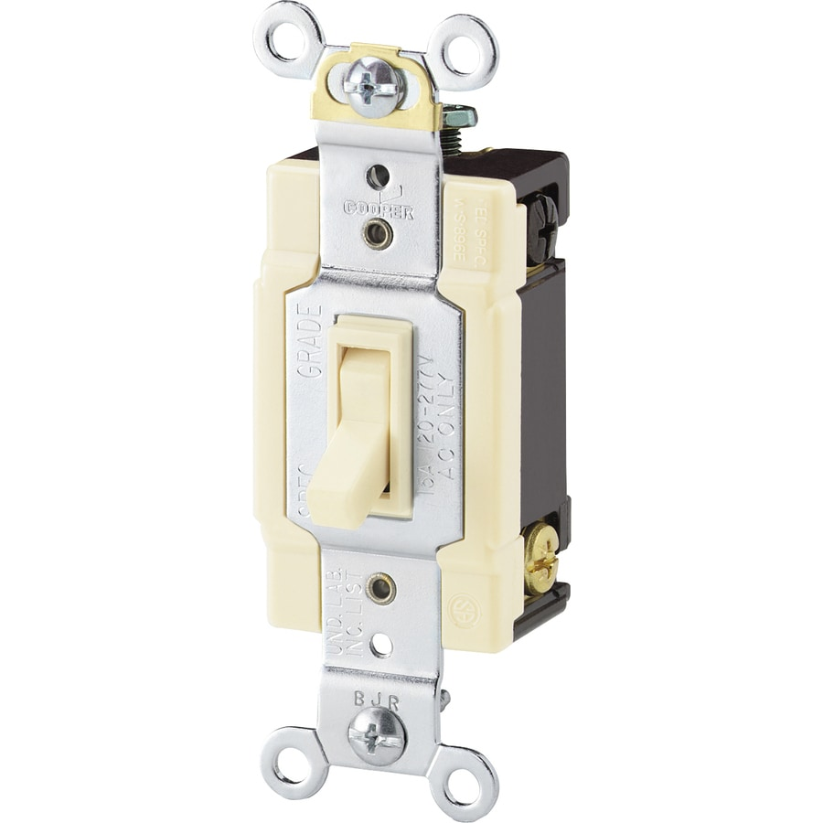 Eaton 4-Way Light Almond Light Switch
