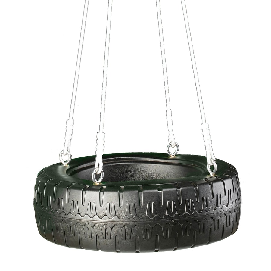 Swing-N-Slide Tire Swing Black Tire Swing